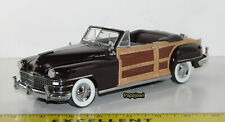 Danbury Mint 1948 Town And Country Chrysler 48 Weekend Convertible 1:24