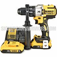 "DeWALT DCD996B 20V MAX XR 2.0 Ah Li-Ion Brushless 3-Speed 1/2"" Hammer Drill Kit"