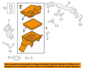Cadillac GM OEM 15-16 XTS Air Cleaner Intake-Filter Box Housing 22831213