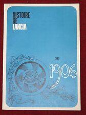 (31B) REVUE HISTOIRE DE LANCIA de 1906