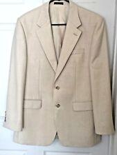 CHAPS RALPH LAUREN WHITE Sport Coat Jacket Blazer Mens 38 Reg Christmas Dinner