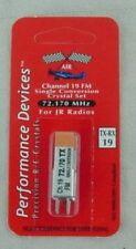 JR Single Conversion 72Mhz FM Transmitter/Receiver Crystal Set Channel 19 72.170