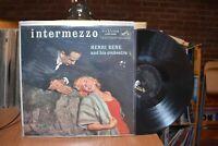 Henri Rene and his orchestra Intermezzo LP RCA LPM-1245 Mono
