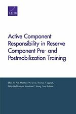Active Component Responsibility in Reserve Component Pre- and Postmobilization