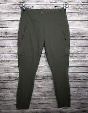 Athleta Size 10 Headlands Hybrid Cargo Pants Olive Green