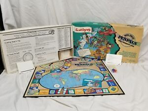 Penpals Game 1989 Vintage Educational Insights EI 3168 Worldwide Geography Rare