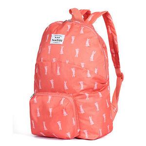 Foldable Water Resistant Travel Sports Outdoor Shoulders Bag Backpack Schoolbag