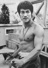 "Kung-Fu Bruce Lee Movie Silk Fabric Poster Rare 14""x20"""