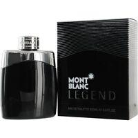 Mont Blanc Legend COLOGNE For Men 3.3 / 3.4oz 100ml Eau de Toilette Spray SEALED