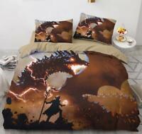3D Death Scythe Dragon KEP6313 Bed Pillowcases Quilt Duvet Cover Kay