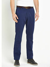 Goodsouls Mens Premium Cotton Casual Chinos Trousers W30 Short BNWT RRP £45 Navy