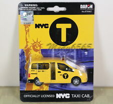 "NYPD Taxi Cab ""Nissan NV200"" Wsliding Doors ""Diecast"" 1/43"