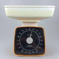 60er 70er Jahre Waage Küchenwage Orange Krups Space Age Design