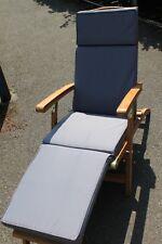 Garden Furniture Cushion- Cushion for Garden Steamer Chair In Light Grey