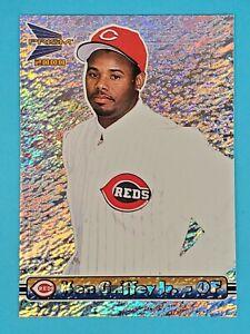 2000 Pacific Prism SILVER RAPTURE Ken Griffey Jr Cincinnati Reds #133 ⚾