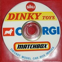 800+ Picture DVD of Diecast Corgi Matchbox Dinky Siku Models to Print Repro Box