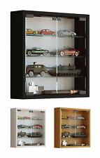 Glass Display Cabinet Wall Mounted Small Toys Vapes Various Colours