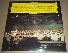 John Oliver/Tanglewood Chorus CARTER/COPLAND/DRUCKMAN/IVES - DG 2530 912 SEALED