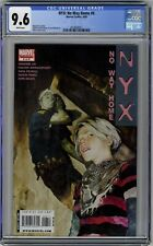 NYX: No Way Home #6 (Marvel  06/09) CGC 9.6 White Pages, Urosov Cover!👍👍