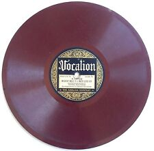 VINTAGE 1921 BROWN VINYL 78RPM RECORD I'M SITTIN' PRETTY IN A PRETTY LITTLE CITY