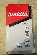"MAKITA P-00125 PACK OF 5 PZ SANDING BELTS 1 3/16"" X 21"" GRIT 120 30 X 533 MM"