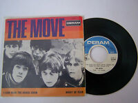 EP 4 TITRES VINYL 45 T . THE MOVE , I CAN HEAR THE GRASS GROW . VG + / G