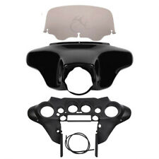 Batwing Inner Outer Fairing Windshield For Harley Touring Street Glide 96-13 97