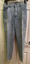 FORENZA Light Blue Denim Jeans Womens Size 10 Acid Washed Faded Cotton Spandex