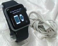 Apple Watch Series 3 38mm GPS Space Gray Aluminium Case with Black Sport Band