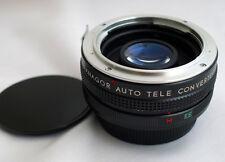 duplicatore di focale 2x ko Panagor per Konica reflex lens auto tele converter