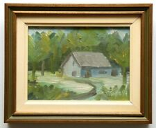 ORIGINAL OIL PAINTING BY QUEBEC CANADIAN ARTIST LOUIS ST-PIERRE 6 X 8