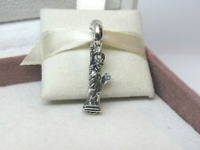 New w/Box Pandora Statue of Liberty Dangle Charm #791077 New York Big Apple