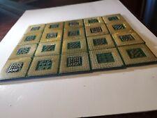 20 x Intel pinned Gold CPU Processors Scrap Recovery Precious Metals