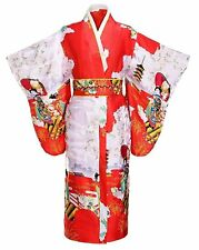THY COLLECTIBLES Women's Silk Traditional Japanese Kimono Robe/Bathrobe /...