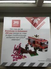 Lego Certified Professional set 200th anniversary Antwerp fire department