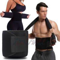 Hot Sweat Waist Trimmer Premium Weight Loss Belt for Men Women Workout Shaper
