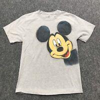 Walt Disney World Mickey Magic Kingdom Disneyland Mens M T Shirt Double Side
