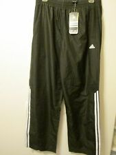 Adidas Jersey Lined Black Long Pants Athletic Performance Size Medium NWT