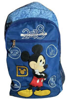 Disney Parks 2018 Backpack Exclusive Souvenir Stamp Collection Mickey