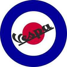 Scooter Decals British Roundel Exterior Vinyl Vespa Stickers Mod Culture Music 2
