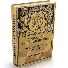 American History 89 Vintage Books on DVD Civil War Presidents Revolution USA