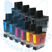 10 PACK LC41 HIGH YIELD LC41 LC-41 Ink Cartridge Compatible for BROTHER Printer