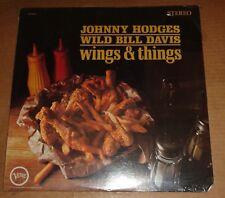 JOHNNY HODGES/WILD BILL DAVIS - Wings & Things - Verve V6-8630 SEALED