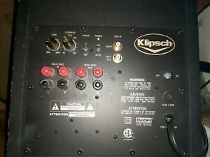 Klipsch Synergy Sub 10 Powered Subwoofer amp**PARTS ONLY**