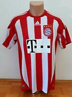 BAYERN MUNICH  Vintage Football Soccer Retro Adidas Home Jersey Shirt 2010/2011