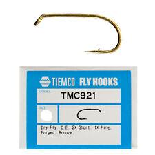 Tiemco 921 Fly Hooks , size 10 / box of 100 pc /