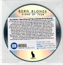 (DQ516) Born Blonde, Signs of Fear - DJ CD