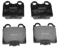 FOR LEXUS IS200 2.0 99 2000 01 02 03 04 05 REAR BACK BRAKE PADS SET 1988CC GXE10