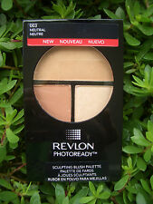 Revlon Photoready 3-in-1 Sculpting Blush Palette, #003 Neutral