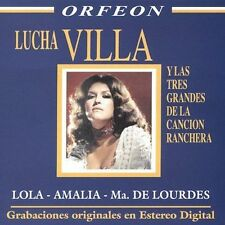 Lucha Villa Y Las Tres Grandes De La Cancion Ranch by Lucha Villa (CD, Jun-2004,